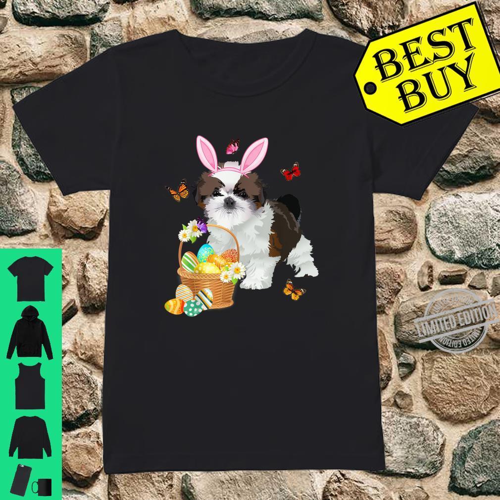 Easter I Shih Tzu Not I Am The Easter Bunny Sweatshirt
