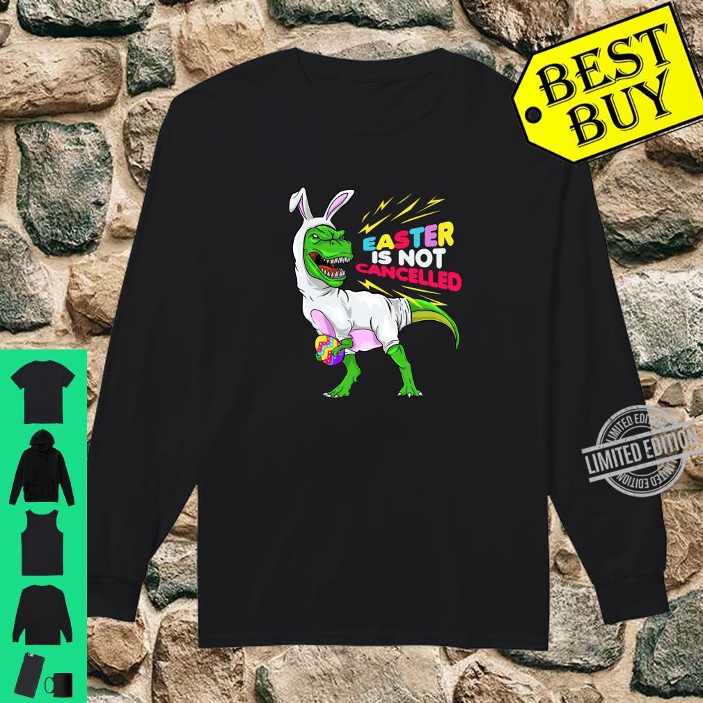 Bunnysaurus Easter T-rex Bunny Hooded Sweatshirt